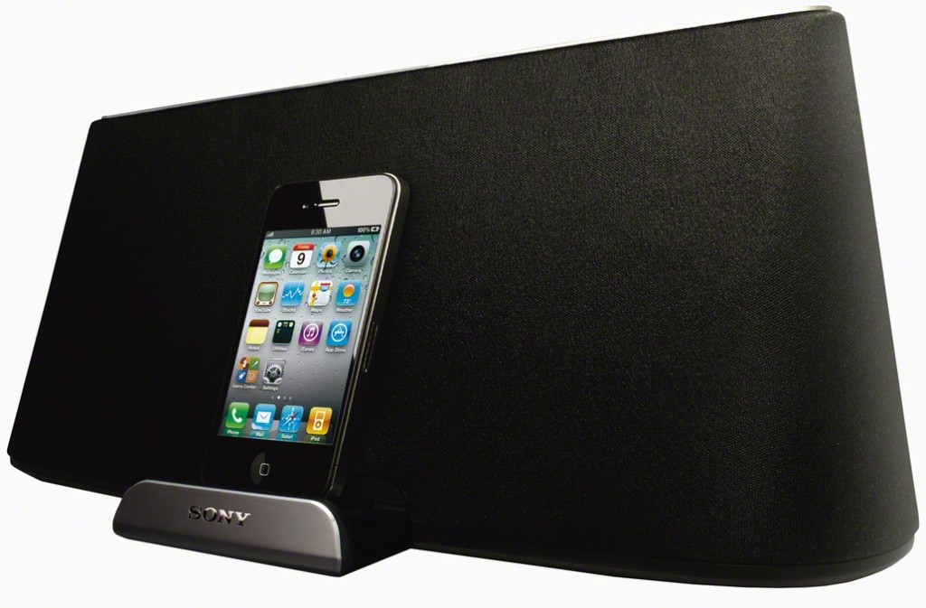 enceinte bluetooth sony rdpx500ip pas cher. Black Bedroom Furniture Sets. Home Design Ideas
